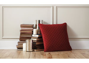 Piercetown Red Pillow (4/CS)