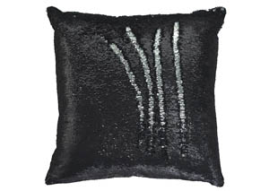 Maxandria Black/Silver Pillow