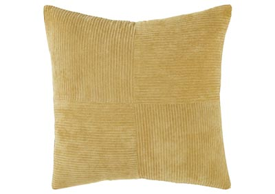 Jinelle Ochre Pillow (4/CS)