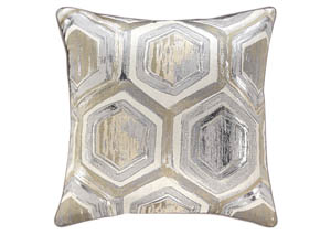 Meiling Metallic Pillow