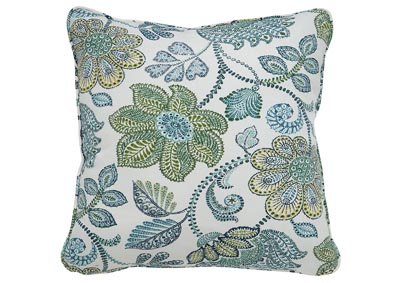 Miriam Blue/Green Pillow (Set of 4)