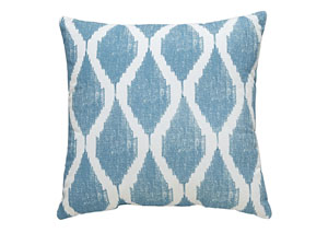 Bruce Turquoise Pillow (4/CS)