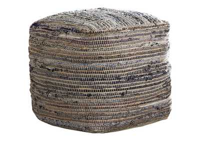 Image for Absalom Natural Pouf