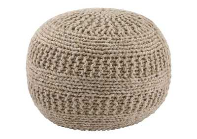 Image for Benedict Natural Pouf