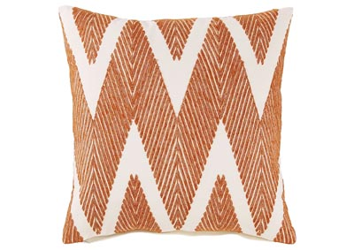 Carlina Orange Pillows (4/CS)
