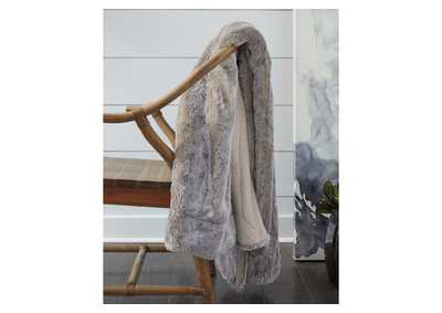 Image for Raegan Gray Throw (Set of 3)