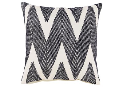Carlina Black Pillow