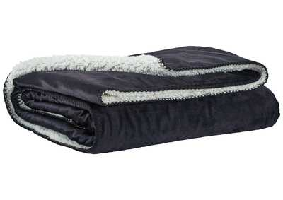 Romeo Black Throw (Set of 3)