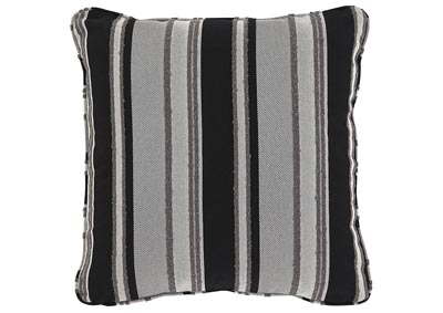 Samuel Black/Tan Pillow (Set of 4)