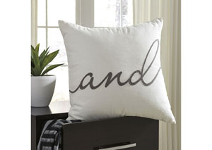 And White Pillow (4/CS)
