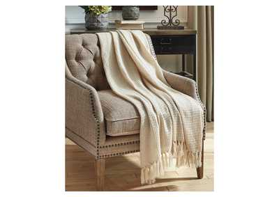 Rowena Beige Throw (Set of 3)