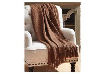 Rowena Brown Throw (Set of 3)
