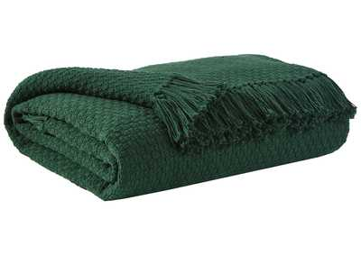 Yasmin Emerald Throw (Set of 3)