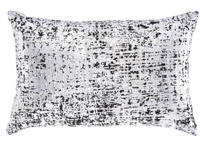 Linda Black/Silver Pillow