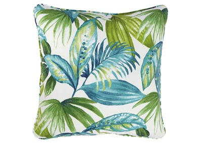 Matat Leaf Print Single Pillow