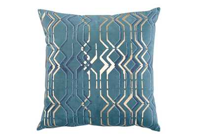 Caelyn Blue/Gold Pillow
