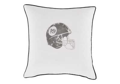 Image for Waman Football Design Pillow