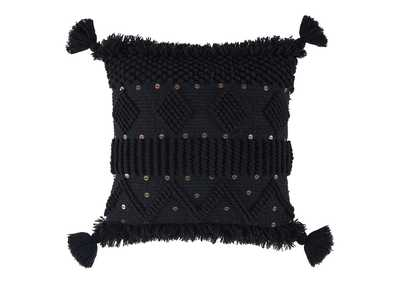 Mordechai Black Pillow (Set of 4)