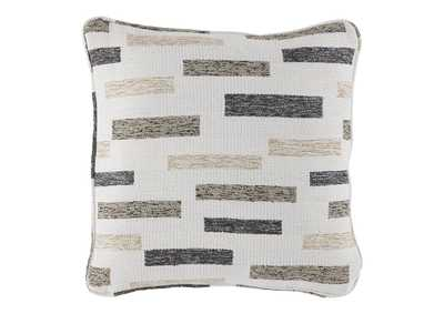Image for Crockett Black/Brown/Cream Pillow (Set of 4)