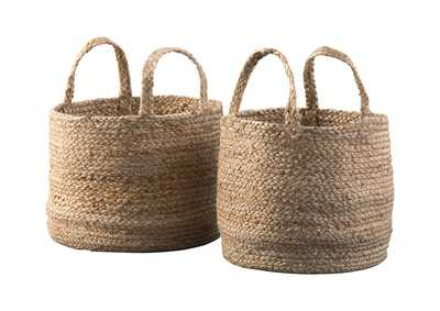 Brayton Natural 2 Piece Basket Set