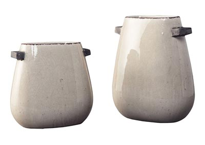 Diah Tan 2 Piece Vase Set