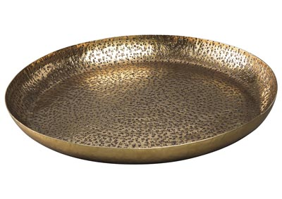 Image for Morley Antique Brass Finish Tray