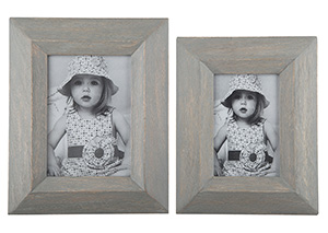 Cadewyn Gray Photo Frame (Set of 2) (2/CS)