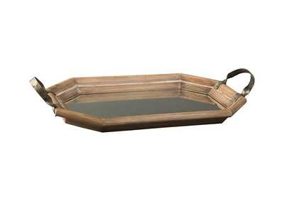 Image for Kadmiel Natural/Gold Finish Tray