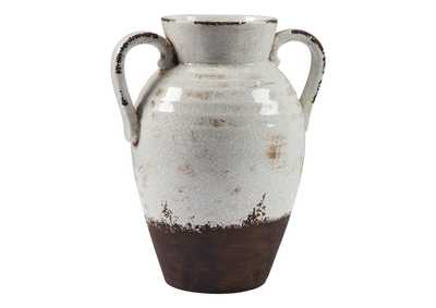 Image for Dion Distressed White Vase