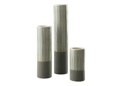 Elwood Gray Vase (Set of 3)