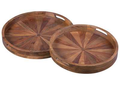 LUCIO Natural Tray (Set of 2)