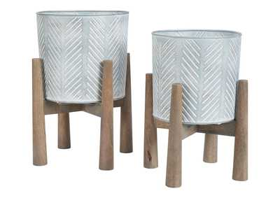Image for Domele Planter (Set of 2)
