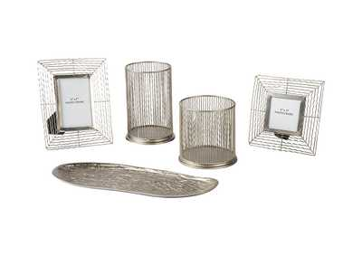 Image for Dympna Silver Accessory Set