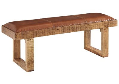 Eduardo Brown Accent Bench