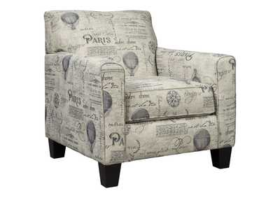 Image for Nesso Gray/Cream Accent Chair
