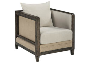Copeland Linen Accent Chair
