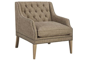 Trivia Oatmeal Accent Chair