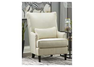 Image for Paseo White Accent Chair