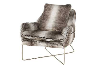 Wildau Gray Accent Chair