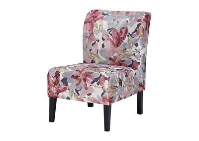 Triptis Floral Fabric Accent Chair