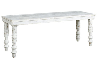 Image for Dannerville White Accent Bench