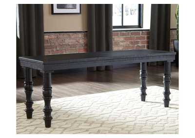 Dannerville Black Accent Bench