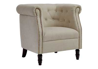Image for Jacquelyne Natural Accent Chair