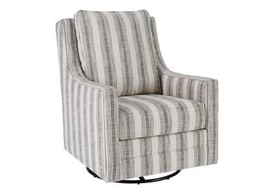 Kambria Ivory/Black Accent Chair