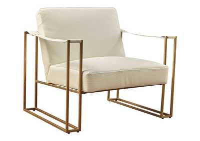Kleemore Cream Accent Chair