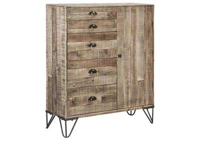 Camp Ridge Light Brown Accent Cabinet
