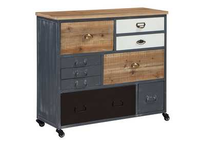 Image for Ponder Ridge Gray Accent Cabinet