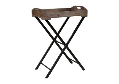 Image for Cadocridge Gray/Black Accent Table