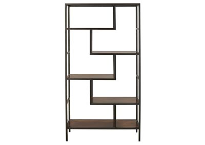 Frankwell Black & Brown Bookcase
