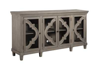Image for Fossil Ridge Gray Door Accent Cabinet